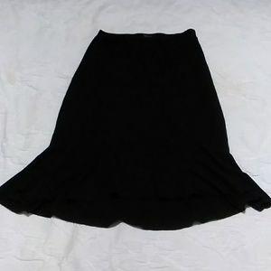 Black ruffle skirt for sale